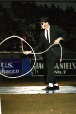 Keith Isley trick roping